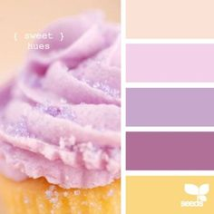 sweet hues perfect there are the princess party colors! :)