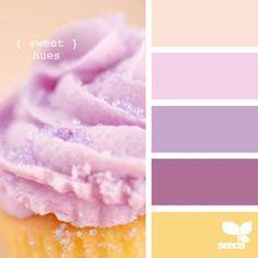 sweet hues perfect there are the princess party colors! :) Colour Pallette, Color Palate, Colour Schemes, Color Combos, Palette Pastel, Color Melon, Design Seeds, Colour Board, World Of Color