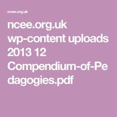 ncee.org.uk wp-content uploads 2013 12 Compendium-of-Pedagogies.pdf