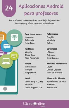 24 aplicaciones Android para profesores