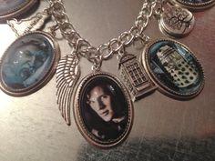Doctor Who bracelet featuring Matt Smith.