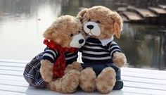Image result for kissing teddy