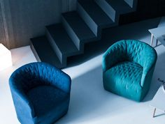 poltroncine amelie saba italia #Poltroncina  #sabaitalia #amelia #interiordesign #armchair #blue #poltrona