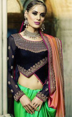 Pink And Green Two Tone Silk Crepe Designer Blouse sari-RY770407  Get from : https://lnkd.in/fGfShnH  #Saree #Pink #Green #Silk #Crepe #Partywear #DesignerBlouse #Georgette #ContrastBlouses #Designerblousesarees #EmbroideredBlouse #EmbroideredSaree #FloralSaree #halfandhalfsaree #LongSleeves #WeddingSarees #BridalSarees #IndianSareesOnline #DesignerSarees #HalfSaree #HalfHalfSarees #DualToneSarees #Twotonesari