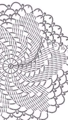 Crochet Doily Rug, Crochet Doily Patterns, Knit Patterns, Free Crochet, Knit Crochet, Beautiful Crochet, Dream Catcher, Free Pattern, Quilts