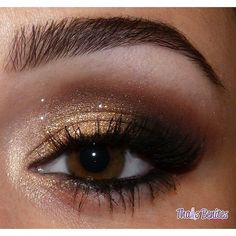 black, eye, gold, lashes, makeup