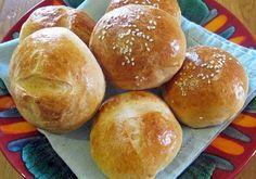 Milk and Honey Rolls Greek Recipes, Desert Recipes, Pasta Choux, Food Network Recipes, Cooking Recipes, The Kitchen Food Network, Greek Cooking, Bread And Pastries, Sweet And Salty