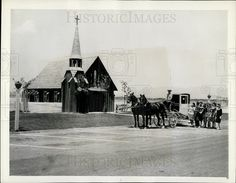 1944 Press Photo The Little Church of the West of Hotel Last Frontier,Las Vegas