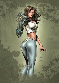 Color test for Witchblade by David Finch Pencil : David Finch Ink : Boy Sicat Color : Me Colors Witchblade Finch Marvel Girls, Comics Girls, Comic Book Girl, Comic Books, David Finch, Female Superhero, Warrior Girl, Image Comics, Costumes