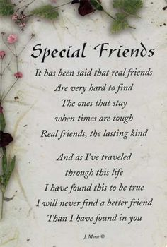 Special Friendship Quotesspecial friendship bond quotes, special friendship day quotes, special friendship quotes, special friendship quotes and sayings… Special Friend Quotes, Best Friend Cards, Birthday Quotes For Best Friend, Birthday Wishes For Him, Cards For Friends, Special Friends, Happy Birthday Special Friend, Birthday Message, Poems For Friends