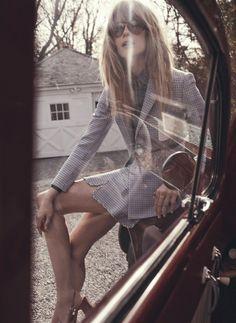 Julia Stegner • Vogue by Benny Horne