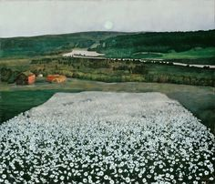 Molly's note: I love love love this creepy but beautiful painting I saw in Norway's national gallery... harald sohlberg