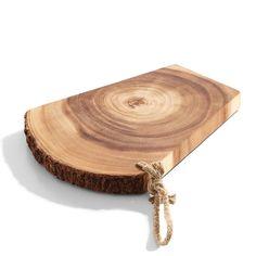 R$ 131,90 Tábua de corte de madeira 28 x 22 cm - Utensílios Domésticos / Utilplast - Utilplast