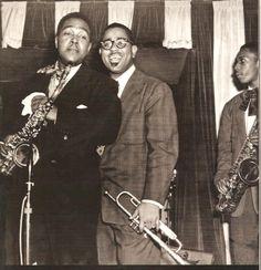 Bird, Diz & a young Coltrane