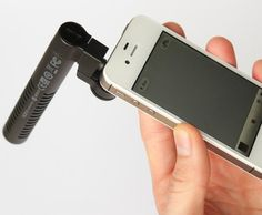 #iPhone Boom Mic #Technology