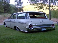 bagged 64 ford galaxie wagon - Google Search