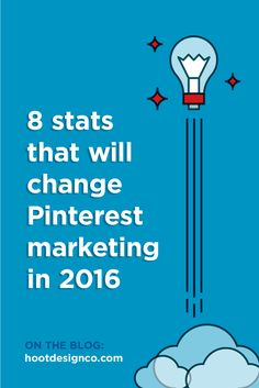 Small businesses take note: These 8 stats will change the way you do business marketing on Pinterest. | Hoot Design Co.