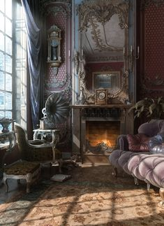 - steampunktendencies:   Interior Design by Vladimir...