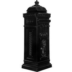 Säulenbriefkasten, Postkasten antik anthrazit #Briefkasten #Modern #Design #Boxes #Mail #Haus #Antik #Stahl #Steel #Garden #Rustic #Rustikal #Mailbox #Metal #Cool #Old #Awesome #Edelstahl #Aluminium #Englisch #Britisch #Postkasten #Standbriefkasten #Wandbriefkasten #Zeitungsrolle