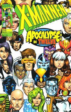 X-Mannen #215 De ontbrekende stukken / De samenkomst