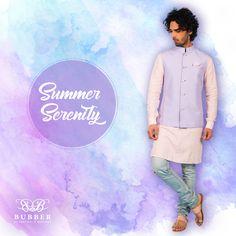 Dapper Men, Monsoon, Dandy, Indian Wear, Serenity, Groom, Pastel, Menswear