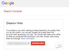 How To Submit A Disavow File in Google Search Console - http://tweetadvise.com/how-to-submit-a-disavow-file-in-google-search-console/