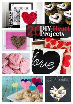Great Ideas — 20 DIY Heart Projects!!