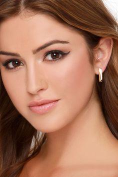 Ingot You Babe Gold Earrings at Lulus.com!
