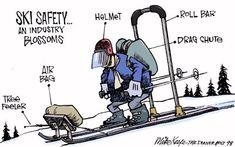 Ski Safety Funny