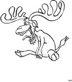 elch malvorlage - ausmalbilder für kinder | ausmalen | elch, malvorlagen und ausmalbilder