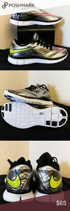 Nike Free 5.0 Hypervenom Trainers? Brand new without a box Nike Free 5.0 Hypervenom Trainers Youth 7 Nike Shoes Sneakers
