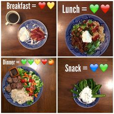 21 day fix sample meal plan healthy food. Clean Eating Recipes, Healthy Dinner Recipes, Healthy Snacks, Healthy Eating, Fun Recipes, Mexican Recipes, Healthy Options, Vegan Recipes, Plats Healthy