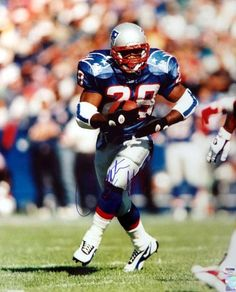 283cf002178 Curtis Martin Autographed 16x20 Photo Patriots PSA DNA · New England ...