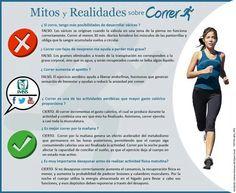 Mitos y realidades sobre correr.