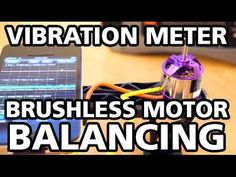 In depth video how to balance brushless motors using a vibration meter and tape - Ontaerial - YouTube