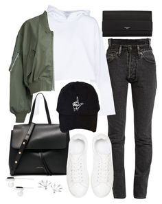 """""""Sin título #679"""" by above3600 ❤ liked on Polyvore featuring Vetements, Pamela Love, Golden Goose, Clane, Mansur Gavriel, Anine Bing, Givenchy and SOL Republic"""