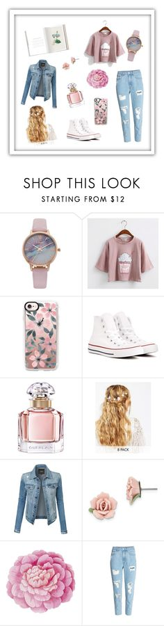 """""""#3"""" by t26ij ❤ liked on Polyvore featuring Vivani, Casetify, Converse, Guerlain, ASOS, LE3NO, 1928 and Ballard Designs"""