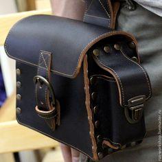 6bbdf8ca2e6d Купить Сумка на пояс. Мужская сумка. Сумка в дорогу. - коричневый, сумка, сумка  ручной работы