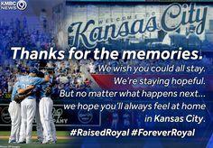 Thanks for the memories Kc Royals Baseball, Baseball Season, No Crying In Baseball, Thanks For The Memories, Kansas City Royals, Mlb, Twins, Quote, Activities