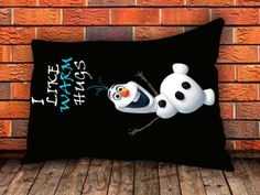 Disney Movies Frozen Movie Olaf I Like Warm by COUPLECUSTOMSTORE, $14.98