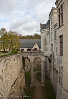 Breze Castle has the deepest ditch in France. the Loire, another designer trip coming up
