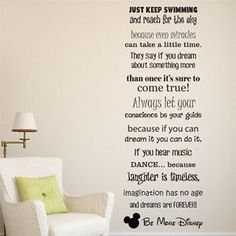 In This House We Do Disney Style Quote Rules Vinyl Wall Art Sticker Mural Kids | Vinyl wall art Disney style and Walls  sc 1 st  Pinterest & In This House We Do Disney Style Quote Rules Vinyl Wall Art Sticker ...
