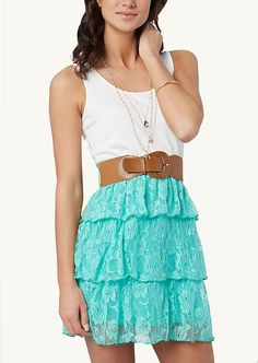 3-Tier High Low Tube Dress | High Low | rue21