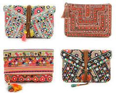 bohemian clutch - Google Search