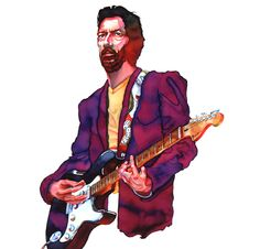 """ERIC CLAPTON. Nobody knows the trouble I've seen."""""""