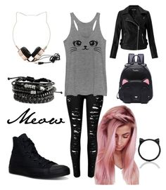 -Meow- by weird-kitten on Polyvore