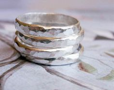 Sterling Silver Bands