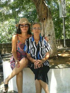 Maria Jucineide Lima de Souza  (Juci) e Antônia de Lima Souza  (Dila).Em Bom Jesus da Lapa - BA, Brasil.