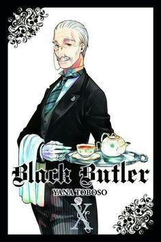 Real Tanaka, text, tea; Black Butler