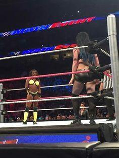 Naomi vs Paige Winner Naomi